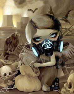 Scavengers post-apocalyptic steampunk fairy - Jasmine Becket-Griffith