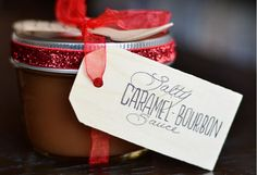 How To Make An Amazing Salty Caramel-Bourbon Sauce on http://brvndon.com