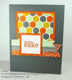Birthday, Confetti Celebration DSP, Congratulations, One Sheet Wonder, Something to Say, Stampin' Up