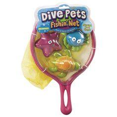 POOF-Slinky Dive Pet Fishing Net Pool Toy 0X8-28466,    #POOF-Slinky_0X8-28466