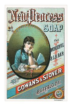 New Process Soap card by totallymystified, via Flickr