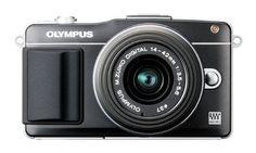 E-PM2 KIT W/EZ-M1442 II R – Spiegelreflexkamera – International Version (No Warranty) $725.24