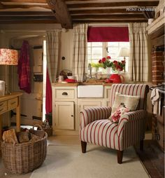 Peony Cranberry, Laura Ashley -- F/W Home Collection 2013