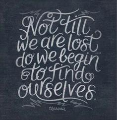Lost, but still looking...
