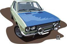 Fiat 128 S by eurojanek