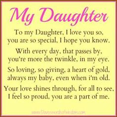 Best Birthday Quotes For Daughter Poems Mothers Ideas Mom Quotes From Daughter, Mother Daughter Quotes, I Love My Daughter, Mother Quotes, Beautiful Daughter Quotes, Bond Quotes, Birthday Girl Quotes, Birthday Prayer, Happy Birthday Daughter From Mom