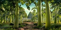 kinda kitsch, but well made (and infinitely photoshopped) foodscapes by Carl Warner