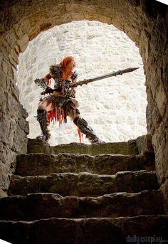 Barbarian from Diablo III - Daily Cosplay . Diablo Cosplay, Barbarian, Cosplay Girls, Cosplay Costumes, Manga, Fun, Anime, Painting, Dibujo