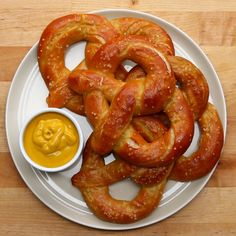 Homemade Soft Pretzels by Tasty