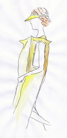 Maria Mota, aluna do Mestrado de Ilustração e Animação do IPCA - desfile ESAD.