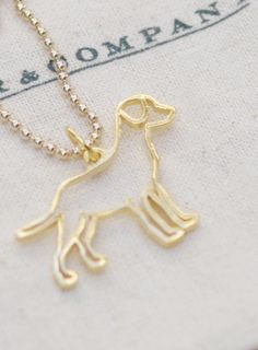 Lab Necklace--just like Cuddles!