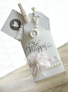 Paper Girl Crafts: A Blissful Marriage, using Papertrey Ink, WPlus9, Precious Remembrance, and Maja Design