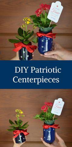 DIY Patriotic Center