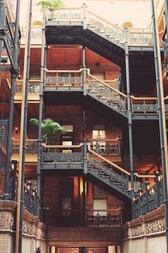 The Bradbury Building in Los Angeles
