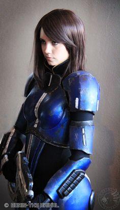 Ashley- Mass Effect Cosplay
