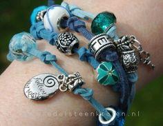 Bracciale Making - fare un braccialetto dell'involucro - fanno Bracciale con Perle - Come fare ... - Perle di quarzo