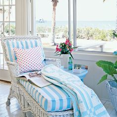 Bust Out the Blankets - Colorful, Cozy Spaces - Coastal Living