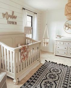 50 Inspiring Nursery Ideas for Your Baby Girl – Cute Designs You'll Love Charming Baby Girl Room Ideas – Browse the nursery themes, shades and also decorating ideas and see what ideas you'll locate to incorporate right into your new little girl's space. Baby Boy Rooms, Baby Boy Nurseries, Baby Cribs, Baby Room Ideas For Girls, Baby Girl Nusery, Unisex Nursery Ideas, Future Baby Ideas, Baby Nursery Ideas For Boy, Nursery Ideas Neutral Small
