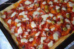 Pizza casalinga-Una siciliana in cucina