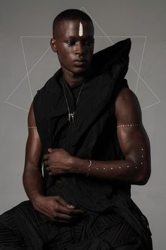 Okay So I Finally Found A Picture Of A Black Person With A White Ink