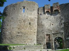Haapsalu Episcopal Castle. Estonia-2007.
