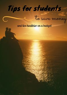 Do you or someone you love have a strict budget because of school? Check out these Tips for helping Students Live Healthier on a Budget! Take care of YOU!