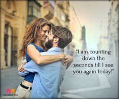 Good Morning Love Messages For Boyfriend - Counting The Seconds Valentine Msg, Best Valentine Message, Valentines Day Messages For Him, Happy Valentines Day, Loving You Letters, Love Message For Boyfriend, Good Morning Love Messages, Bridal Boxes, Love Wallpaper