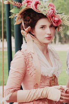 """beautyandtheharpsichord: """"  María Valverde as María Teresa Bolivar in Libertador (2013) """""""