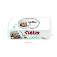 First Quality Cuties Sensitive Soft Pack Of 72 - CR16413