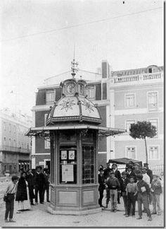 """Agência de """"O Século"""" na Praça da Estrela"""
