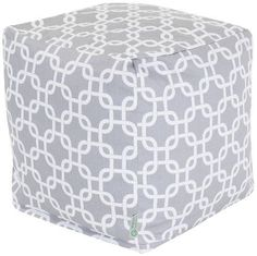 awesome Majestic Home Goods Links Cube, Small, Gray