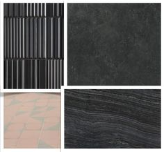 Gaining over 40 years of knowledge and experience within the construction industry, ace has become Queensland's leading procurer of exclusive tile and stone products. Black Wall Tiles, Black Walls, Natural Stone Bathroom, Natural Stones, Pink Tiles, Dramatic Effect, Black Floor, Triple Black, Splashback