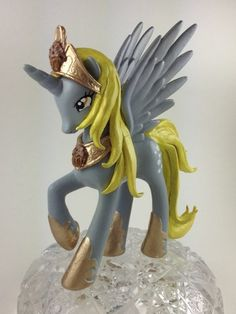 MLP Custom Princess Derpy Derplestia Alicorn Figure