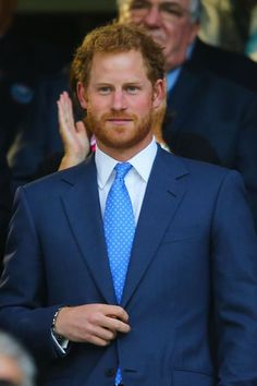 Prince Harry - serious business