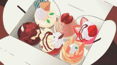 anime, black and white, food, manga, text Think Food, I Love Food, Sweet Recipes, Real Food Recipes, Cute Food, Yummy Food, Yumeiro Patissiere, Anime Bento, Food Drawing