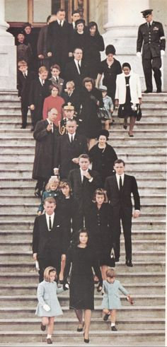Jackie, a 34 year old widow with two small children showed the world what bravery and courage is about as she led the family down the steps of the Capitol on November 24, 1963.