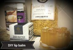 DIY lip balm- simply divine!