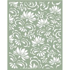 lotus pattern by Hero Arts Design ID #33931 Published: 10/23/2012 Regular cut