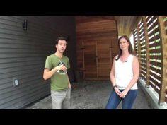 (18) Visite de la 1ère (et magnifique) maison écologique certifiée carbone neutre au Québec ! - YouTube