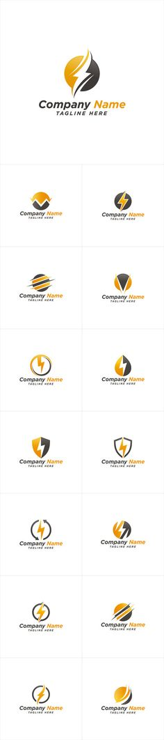 Vectors - Electric Energy Power Logo Design
