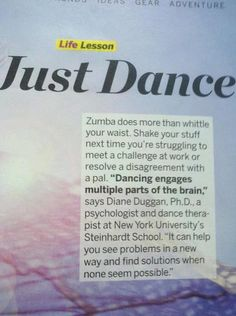 i love Zumba.for me it's not just fitness dancing, its a life saver - its an hour of being free and not enslaved by anything or anyone! Zumba Quotes, Dance Quotes, Zumba Instructor, Working On Me, Hip Problems, I Work Out, Work Hard, Just Dance, Fun Workouts
