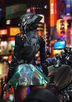 MTL Writer, daydreamer and resident cyberpunk. The brain that collates this visualgasm also assembles words into post-cyberpunk dystopia: my. Cyberpunk 2077, Moda Cyberpunk, Cyberpunk Girl, Cyberpunk Aesthetic, Cyberpunk Character, Cyberpunk Fashion, Neon Aesthetic, Cyberpunk Clothes, Zbrush