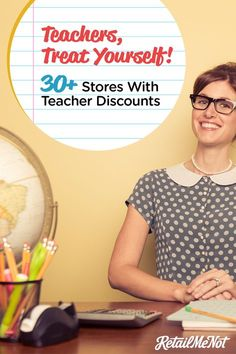It's no secret that school shopping gets crazy expensive for teachers. If they're not shelling out money for art supplies and paper, they're off buying books and pens. Luckily, the 30 retailers below want to help. From Apple to J.Crew, these companies off Teacher Boards, Teacher Tools, Teacher Hacks, Best Teacher, School Teacher, Teacher Resources, Teacher Stuff, Secondary Resources, Teacher Freebies