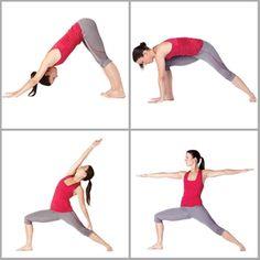 7 m thodes de gymnastique douce postures de yoga pinterest. Black Bedroom Furniture Sets. Home Design Ideas