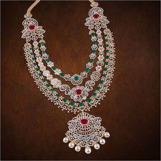 Diamond Jewelry, Gold Jewelry, Jewelery, Jewelry Necklaces, Indian Jewellery Design, Jewelry Design, Trendy Jewelry, Fashion Jewelry, Imitation Jewelry