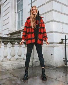schöne Winteroutfits Find the most beautiful outfits for your winter look. Winter Mode Outfits, Winter Fashion Outfits, Autumn Winter Fashion, Fall Outfits, Guy Outfits, Grunge Fashion Winter, Ootd Winter, Travel Outfits, Outfit Winter
