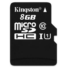 Kingston Micro SD Class 10 8GB Memory Card With Adapter Get yours here http://www.ezonephone.com/