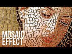 Curso de rostros en mosaico/ Prof.Adriana Mufarrege - YouTube