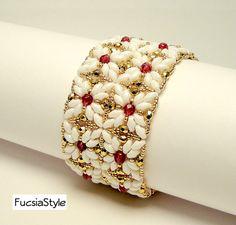 Tutorial Castiel Bracelet beading pattern par FucsiaStyle sur Etsy