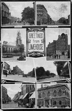 Greetings from Limehouse / London Victorian London, Vintage London, Old London, Old Pictures, Old Photos, London Docklands, East End London, History Of England, London History
